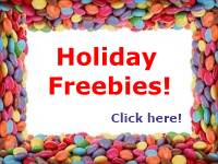 holiday freebies